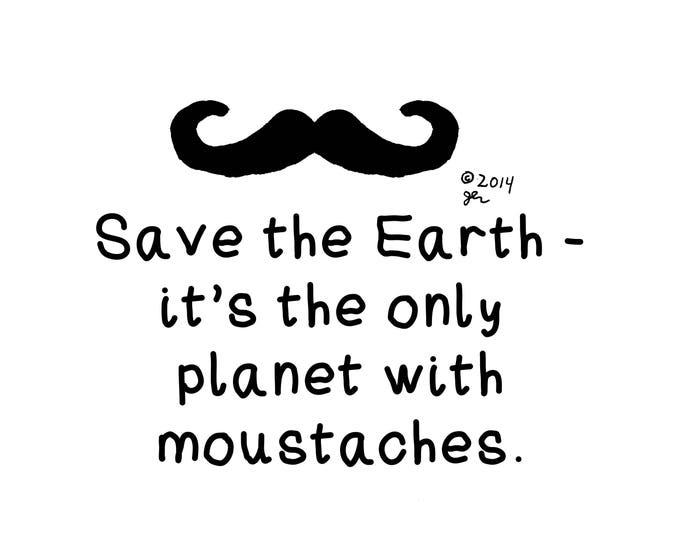 Art Print Punk Shirts Punk Shirt Art Print Funny Cool Environment Awareness DIY Hipster Rebel Emo Indie Crust Moustaches Mustaches Shirt