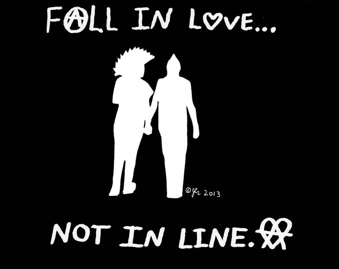Art Punk Shirts Punk Shirt Print DIY Punk Rock Love LoveWins Smash Patriarchy End Gender Binary Anarcho Crust Peace Shirt