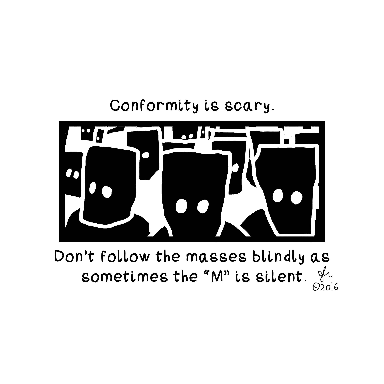 Art Punk Shirts Punk Shirt Print Political Punk Conformity is