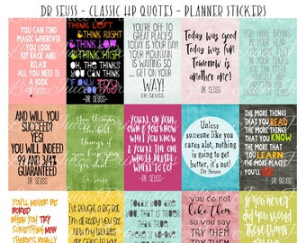 photo relating to Printable Dr Seuss Quotes titled Seuss printable Etsy