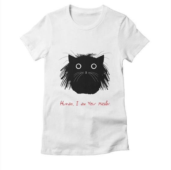 Human, I Am Your Master - Womens / Girls - T-shirt / Tee - White / Cancun / Natural - Womens Apparel