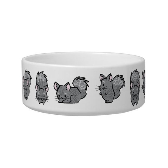 All Chinchilla No Filla - children's bowl - cereal bowl - animal design bowl - soup bowl iOTA iLLUSTRATiON