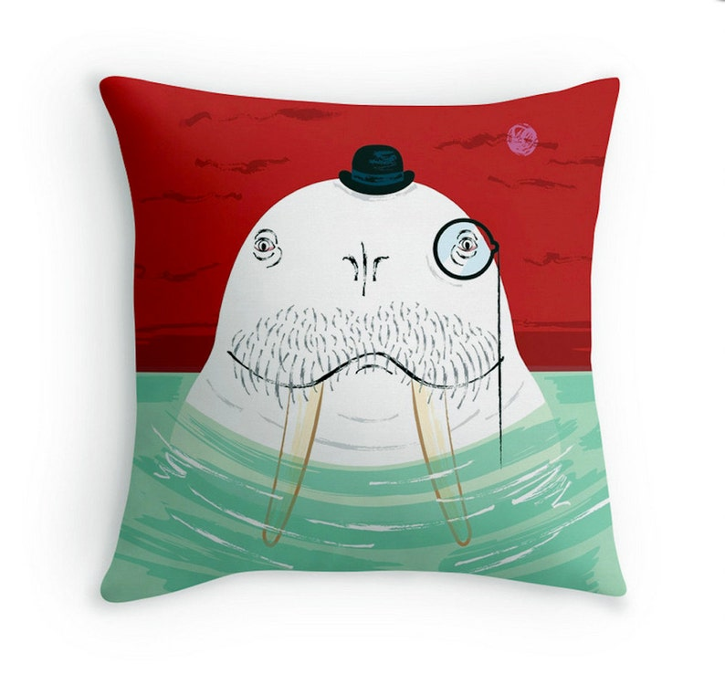 Sir Wilfred Wallace The Wonderful Walrus  Children's image 1