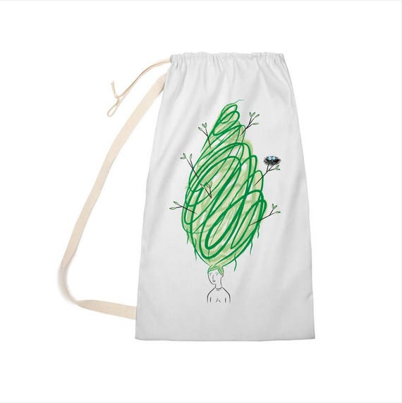 "Let It Grow - Laundry Bag - Clothing Bag - 28"" x 36"""