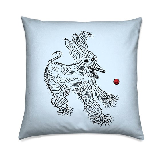 Ball Is Life - dog decorative cushion cover / throw pillow cover including insert by Oliver Lake