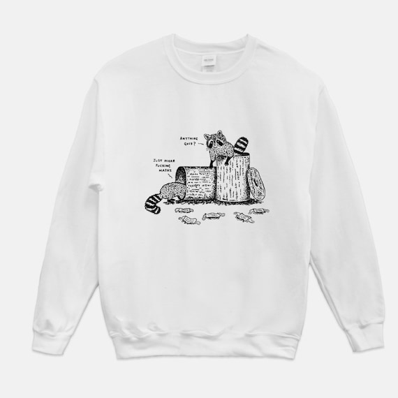 Anything Good? White Gildan Unisex sweatshirt by Oliver Lake