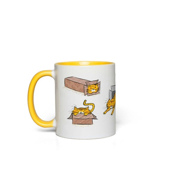 Marmalade - Accent Mugs Yellow Red Pink Orange Green Blue Black by Oliver Lake iOTA iLLUSTRATiON