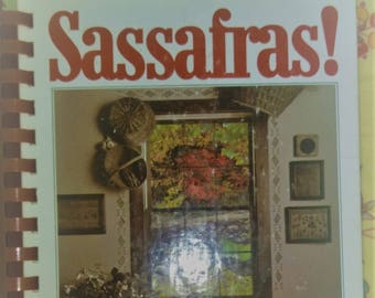 Vintage Ozark Cookbook Sassafras Homestead Cooking Cabin Cookbook Arkansas Cook Book Farmhouse Cooking Trout Southern Recipes Ozark Mountain