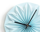 NEW: origami wall clock