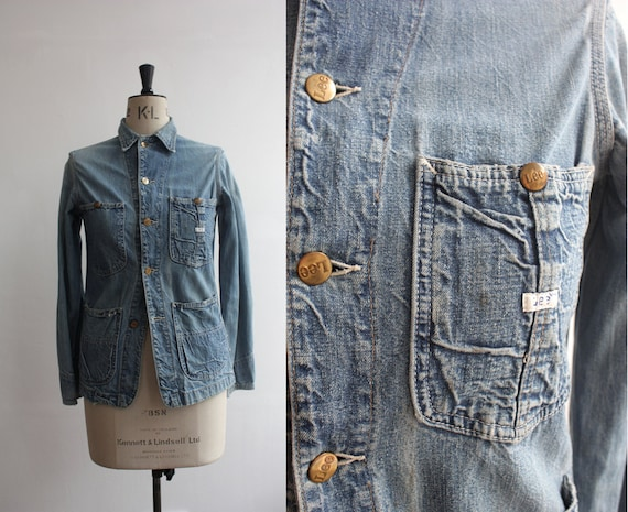 Vintage 1970s Lee Riders Denim Jacket Small Medium