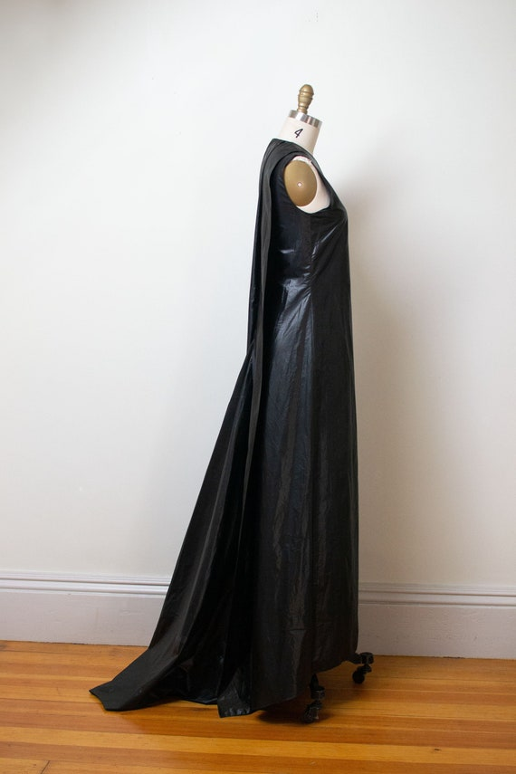 Vintage 1990s Asymmetrical Gown | Calvin Klein
