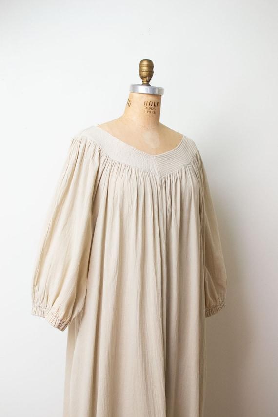 1970s Minimalist Balloon Sleeve Dress | David Brow