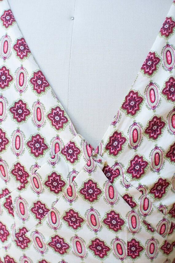 1950s Sundress / 50s Two Piece Wrap Dress - image 8