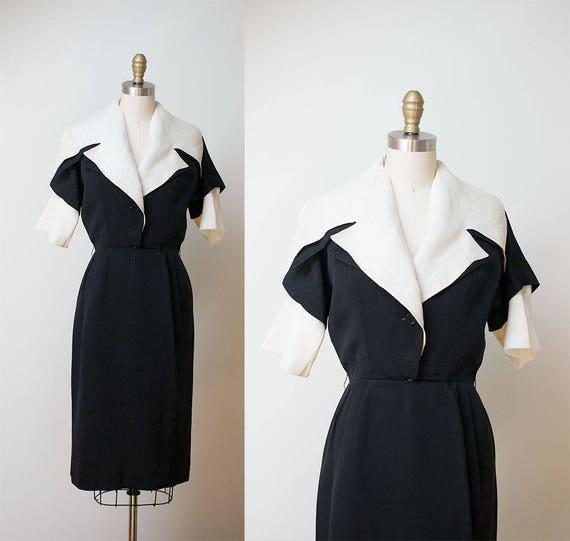 1950s Christian Dior Dress / 50s New Look Portrait