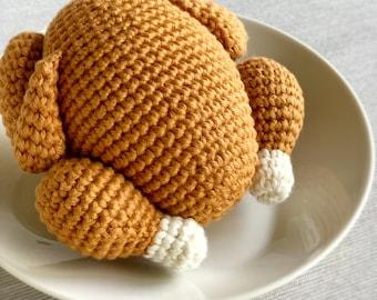 Crochet Pattern: Roasted Turkey - by Luluslittleshop