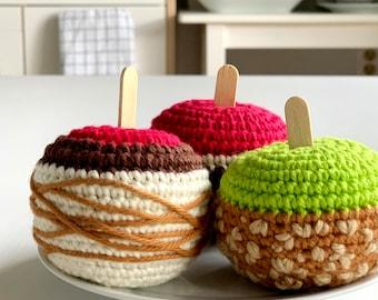 Crochet Pattern: Candied Apples - by Luluslittleshop