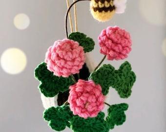 Crochet Pattern: Hanging Clover - by Luluslittleshop