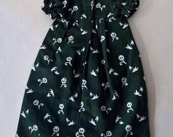 PRETTY Vintage Italy Italian Furga Tag Cotton Lace w Floral Flower High Fashion Doll Original Dress for SEBINO BETTINA Clothes