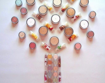6 Sample Bags- Pure and Natural Mineral Makeup