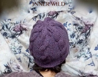INNER WILD Lovey Hat Knitting PATTERN - Super-easy pattern, knit either in-the-round or flat – instructions for both