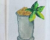 Mint julep cup ornament