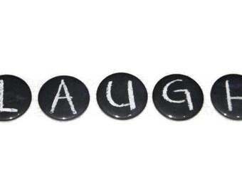 5 ABC Magnete Alphabet Buchstaben zurück zu Schule Tafel Design - wählen Sie fünf Buchstaben - Made To Order