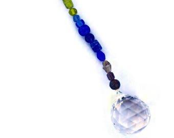 ROYGBIV hängen Crystal Sun Catcher 30 mm mittlere Feng Shui Suncatcher Perlen Regenbogenperlen groß
