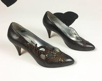 4b14ed792c459 Saks fifth ave heels | Etsy
