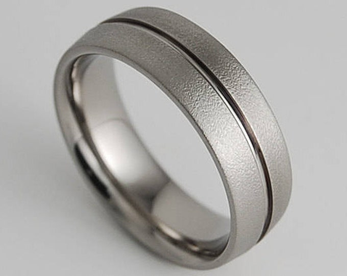 Mens Titanium Ring , Mens Wedding Band , Mens Promise Ring , Titanium Ring , Wedding Band , Promise Ring , Wedding Ring