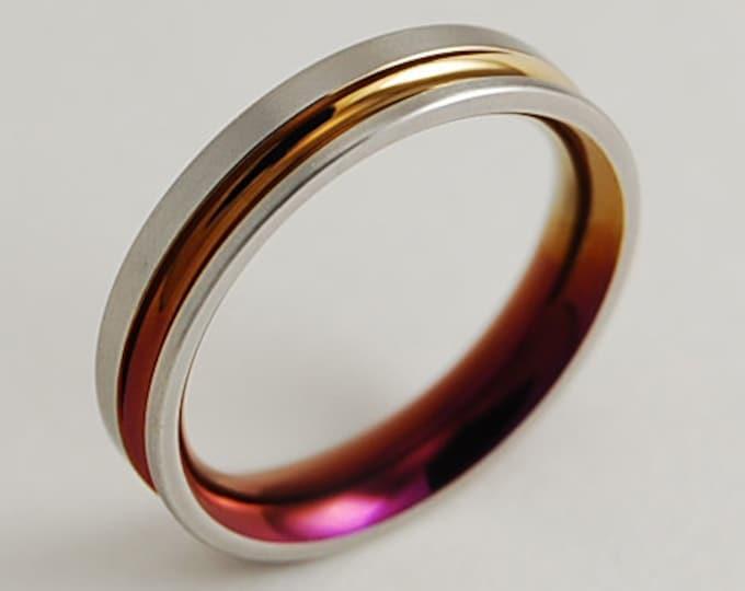 Womens Wedding Band, Womens Titanium Ring, Womens Promise Ring, Womens Wedding Ring, Titanium Ring, Wedding Band, Promise Ring, Wedding Ring