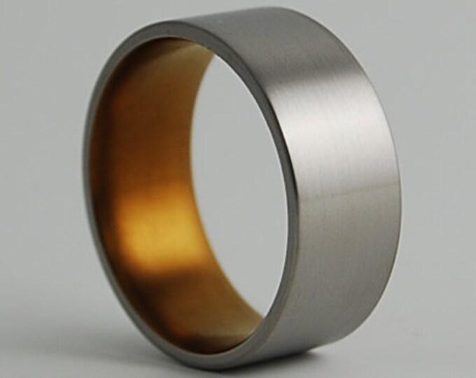 Apollo Band , Titanium Ring , Wedding Band , Promise Ring