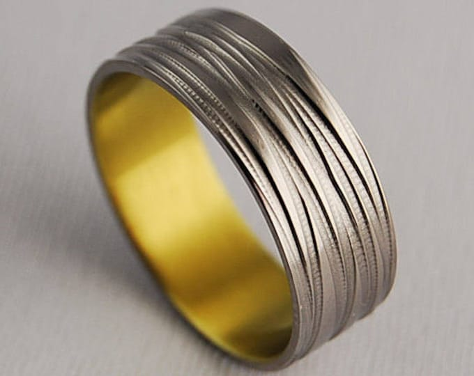 Sphinx Band , Titanium Ring , Wedding Band , Promise Ring