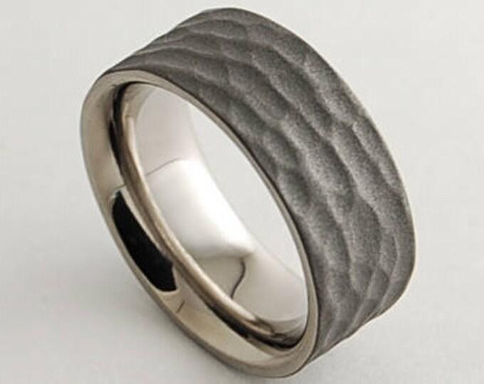 Mens Wedding Band , Mens Titanium Ring , Mens Promise Ring , Mens Wedding Ring , Wedding Band , Titanium Ring , Promise Ring , Wedding Ring