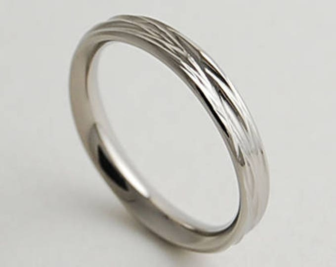 Sphinx Band with Comfort Fit Interior , Wedding Band , Titanium Ring , Womens Titanium Wedding Ring , Womens Titanium Wedding Band