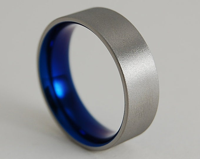 Mens Titanium Ring , Mens Wedding Band , Mens Promise Ring , Titanium Ring , Wedding Band , Promise Ring , Wedding Ring