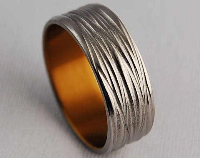 Sphinx Band , Titanium Ring , Wedding Band , Promise Ring