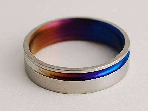 Titanium Ring Wedding Band Promise Ring Wedding Ring Mens