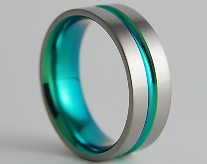 Mens Wedding Band, Mens Promise Ring, Mens Wedding Ring, Mens Titanium Ring, Wedding Band, Promise Ring, Wedding Ring, Titanium Ring