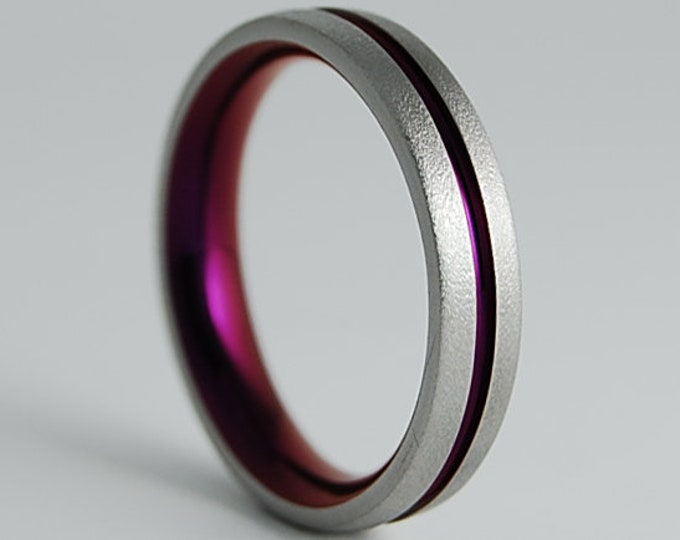 Orion Band with Comfort Fit , Titanium Ring , Wedding Band , Promise Ring