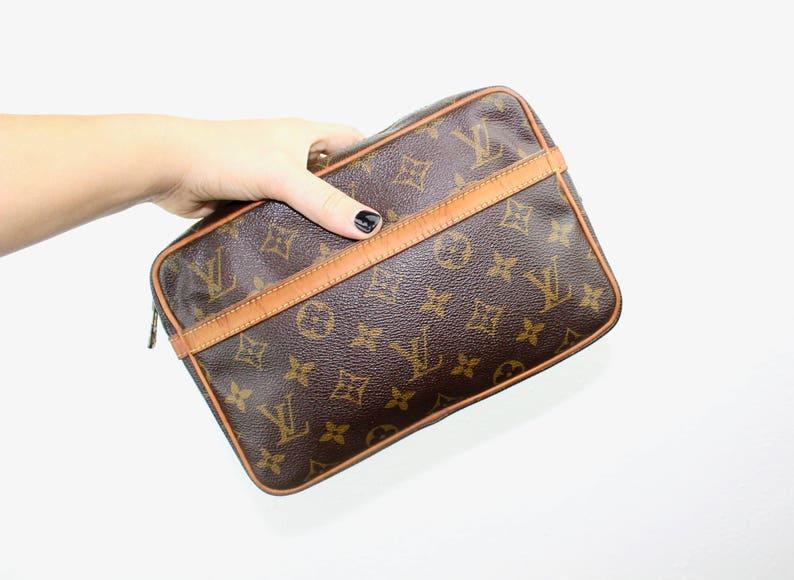 0da57c364d3d Vintage Louis Vuitton Compiegne 23 Pochette Cosmetics Bag