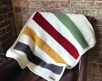 Hudson Bay Baby Blanket