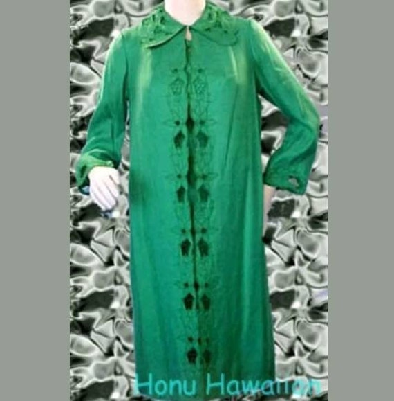 50s Couture Shift Dress w Evening Coat. Size 6