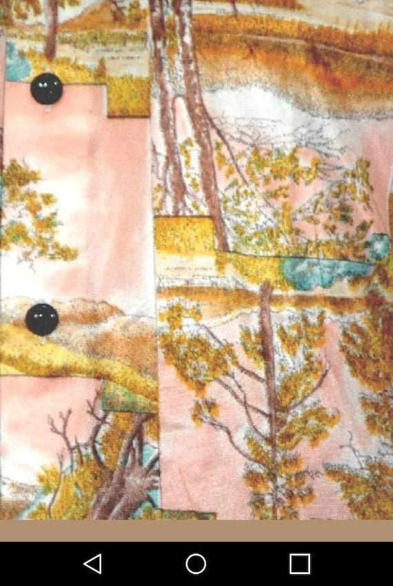 Vtg 1970's Wrangler mens Western Shirt. L - image 2