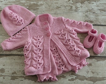 Baby Knits 0-3 Months