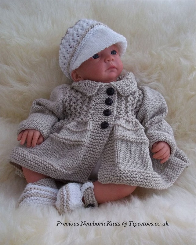 Baby Knitting Pattern Download Pdf Knitting Pattern Baby Etsy