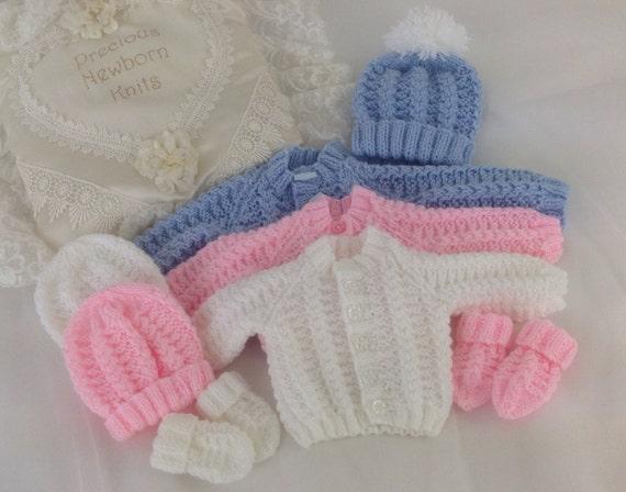 11aaccabd Baby Knitting Pattern Boys Girls Early Baby Reborn Dolls