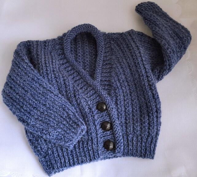 Baby Knitting Pattern Boys Sweater Set Instant Download PDF | Etsy