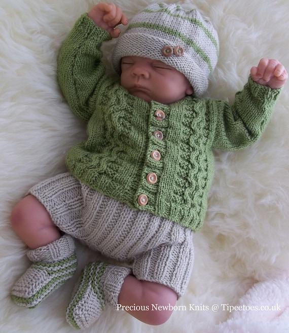 Baby Boys Knitting Pattern Download Pdf Knitting Pattern Etsy