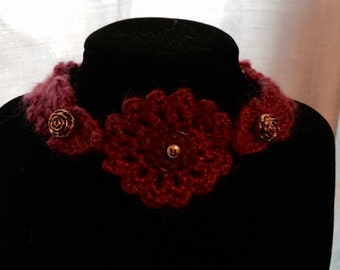 Crocheted Lacy Chokers