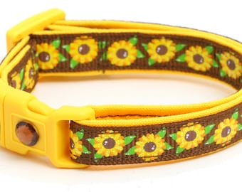Summer Sunflowers on Brown - B37D134